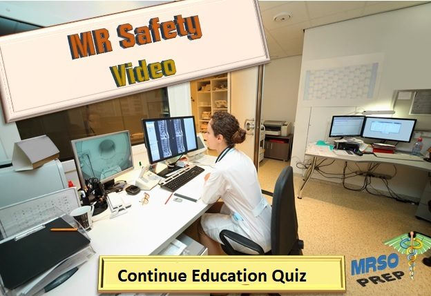 Parameters and MR Safety: CE Quiz course image